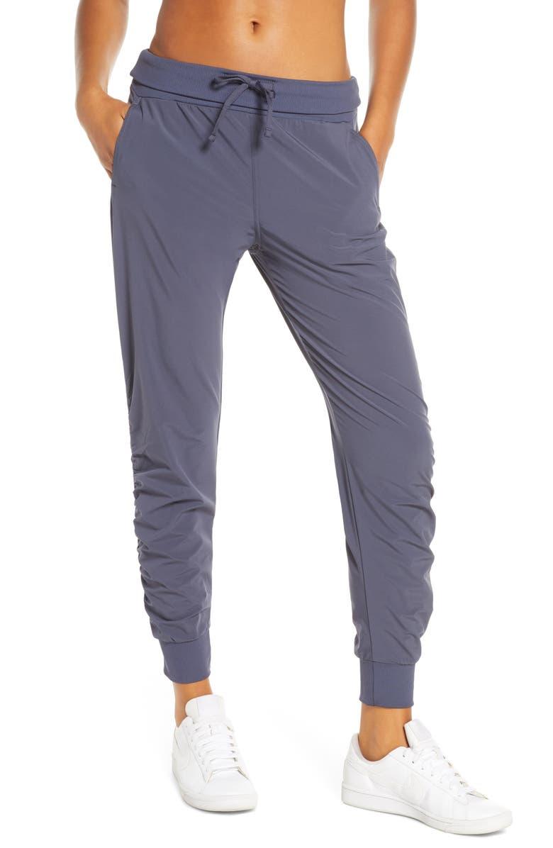 ZELLA Desire Studio Pants, Main, color, GREY ODYSSEY