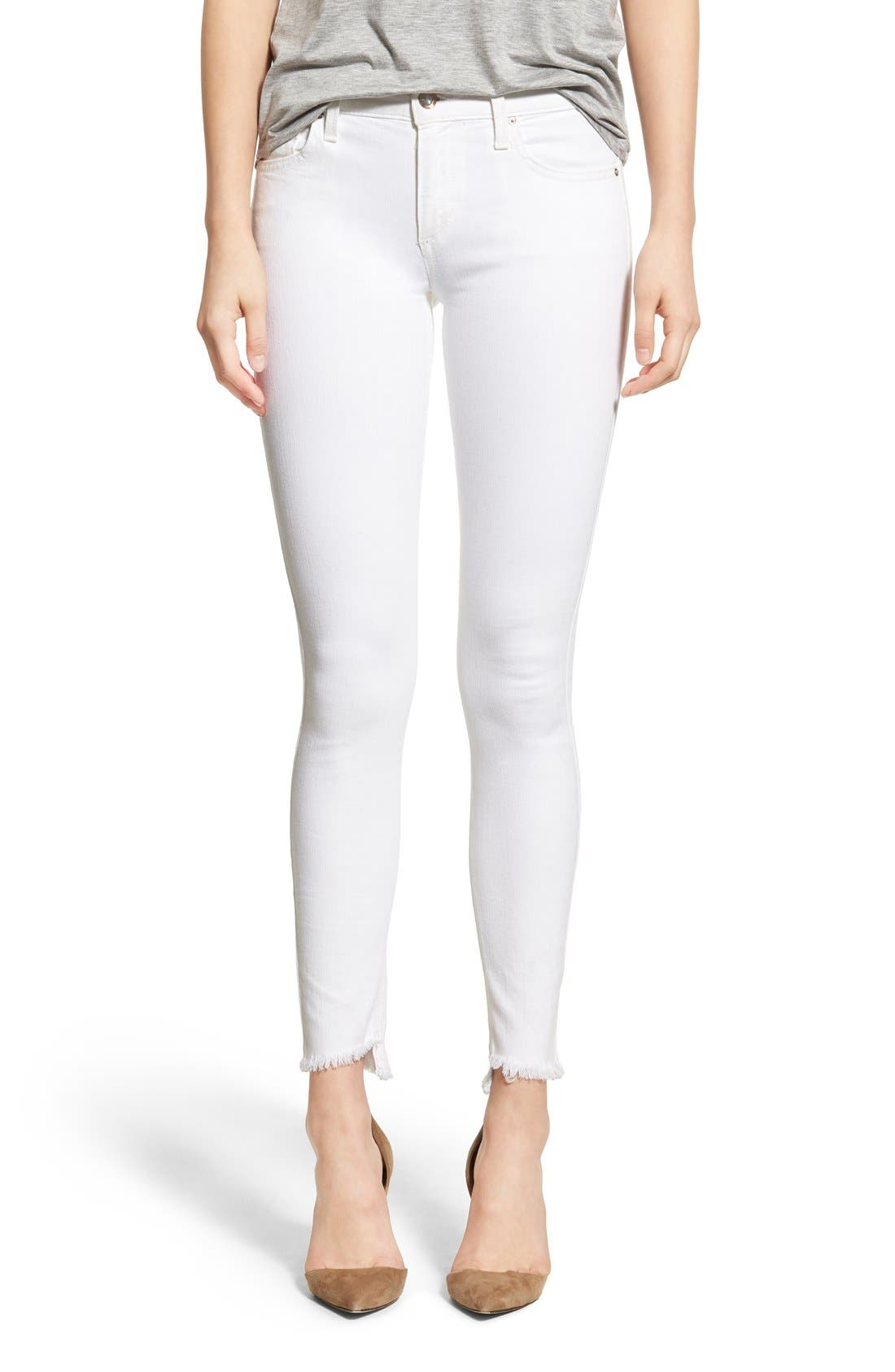 'Spotless - Blondie' Ankle Skinny Jeans, Main, color, 100
