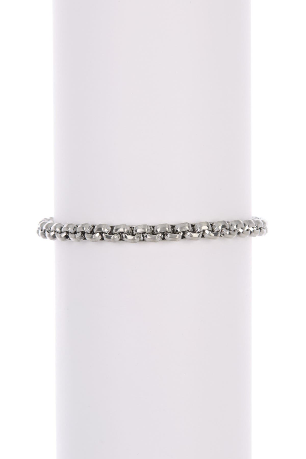 Image of William Rast Thick Round Box Bracelet
