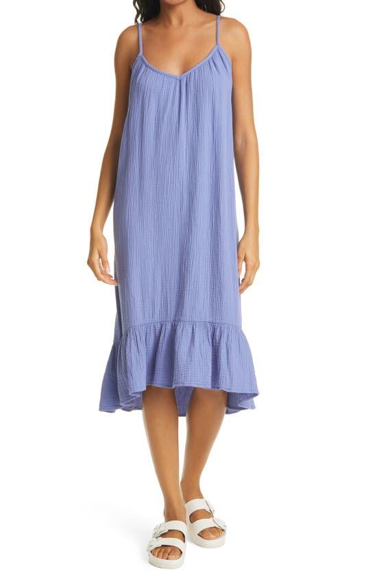 Rails Midi dresses JENNICA CRINKLED COTTON SUNDRESS