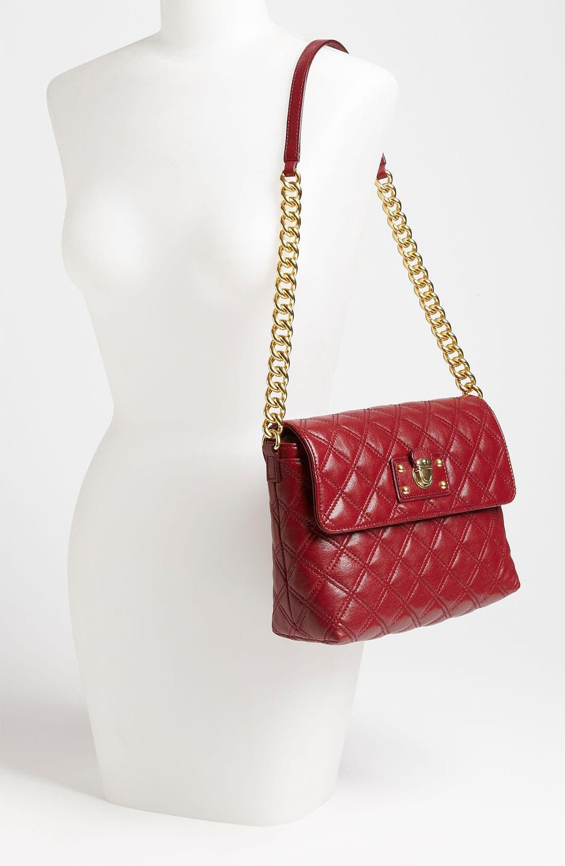 ,                             'Large Quilting Single' Leather Shoulder Bag,                             Alternate thumbnail 39, color,                             930