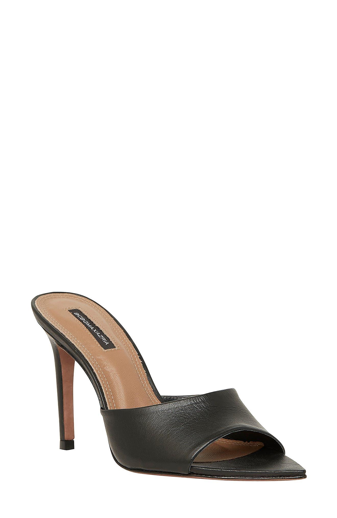 Dana Leather Slide Sandal