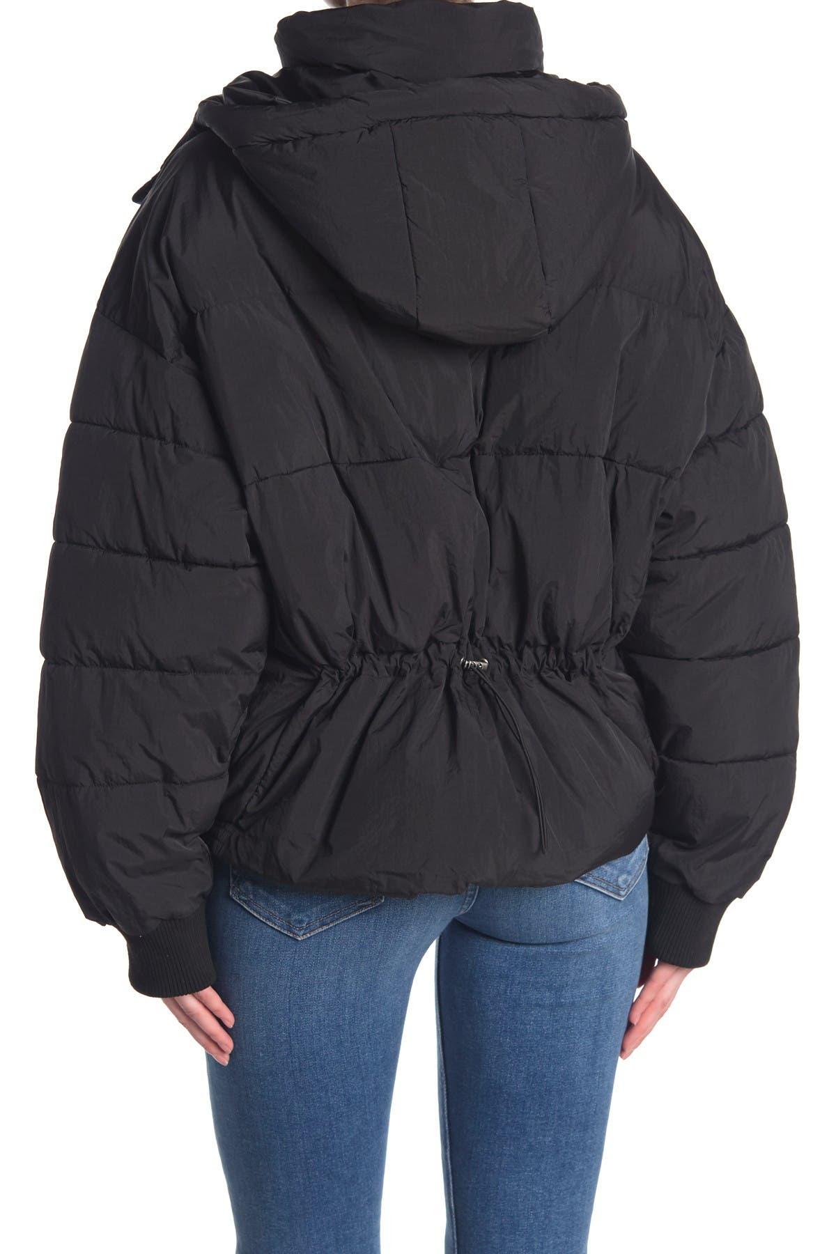 Lucky Brand Hooded Puffer Jacket