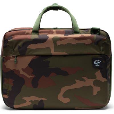 Herschel Supply Co. Britannia Trail Collection Convertible Messenger Bag - Green