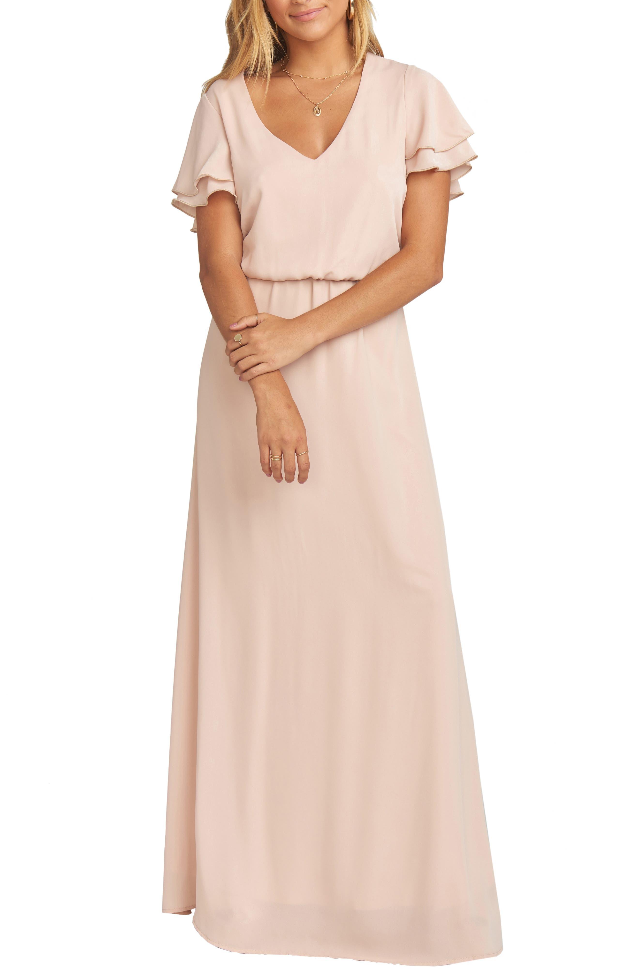 Show Me Your Mumu Michelle Maxi Dress, Pink