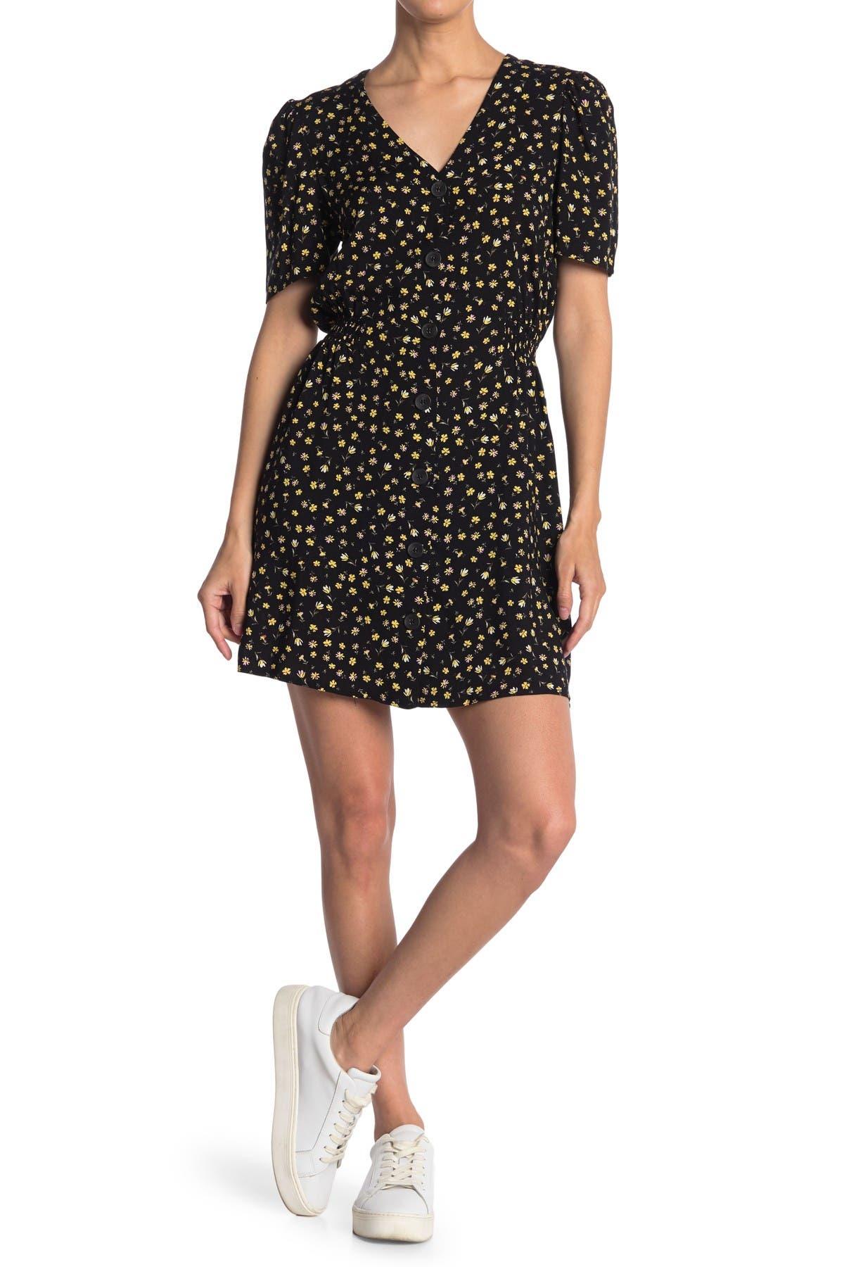 Image of Abound V-Neck Short Sleeve Mini Dress