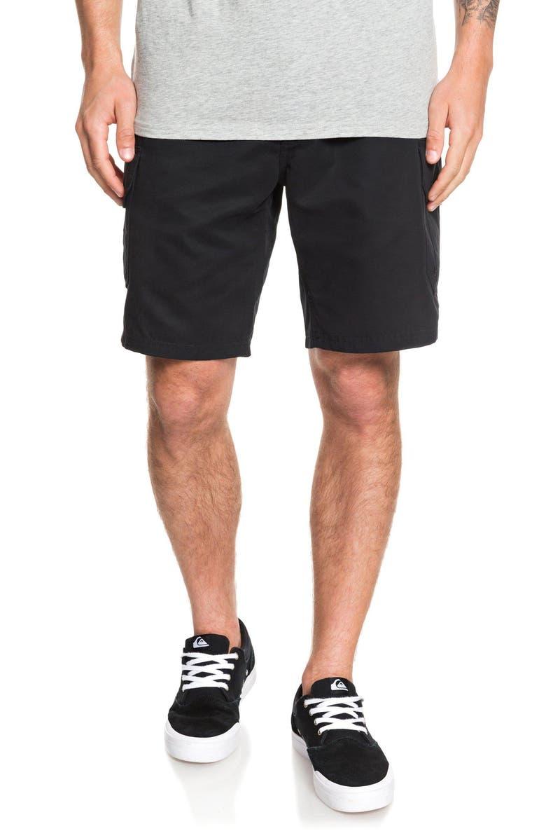 QUIKSILVER Maldive Cargo Shorts, Main, color, BLACK