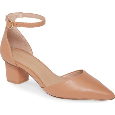 Chinese Laundry Harmony Ankle Strap Pump, Beige