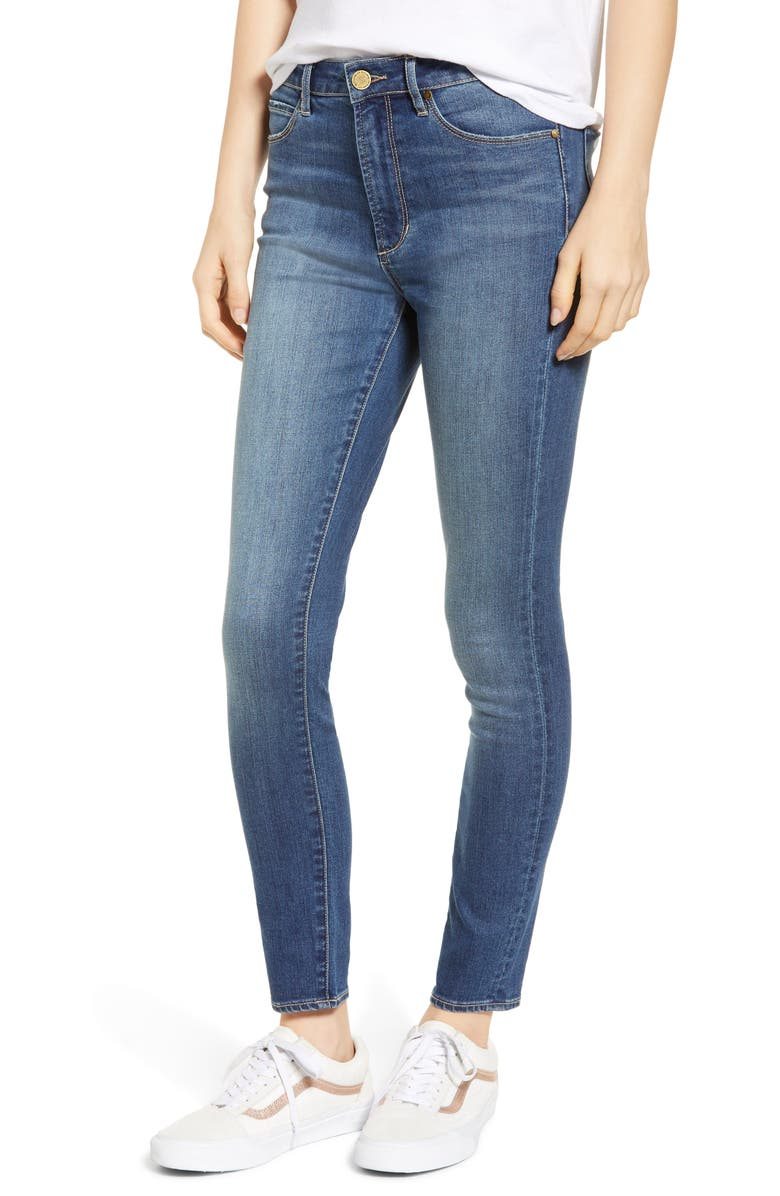 ARTICLES OF SOCIETY Heather High Waist Ankle Skinny Jeans, Main, color, 400