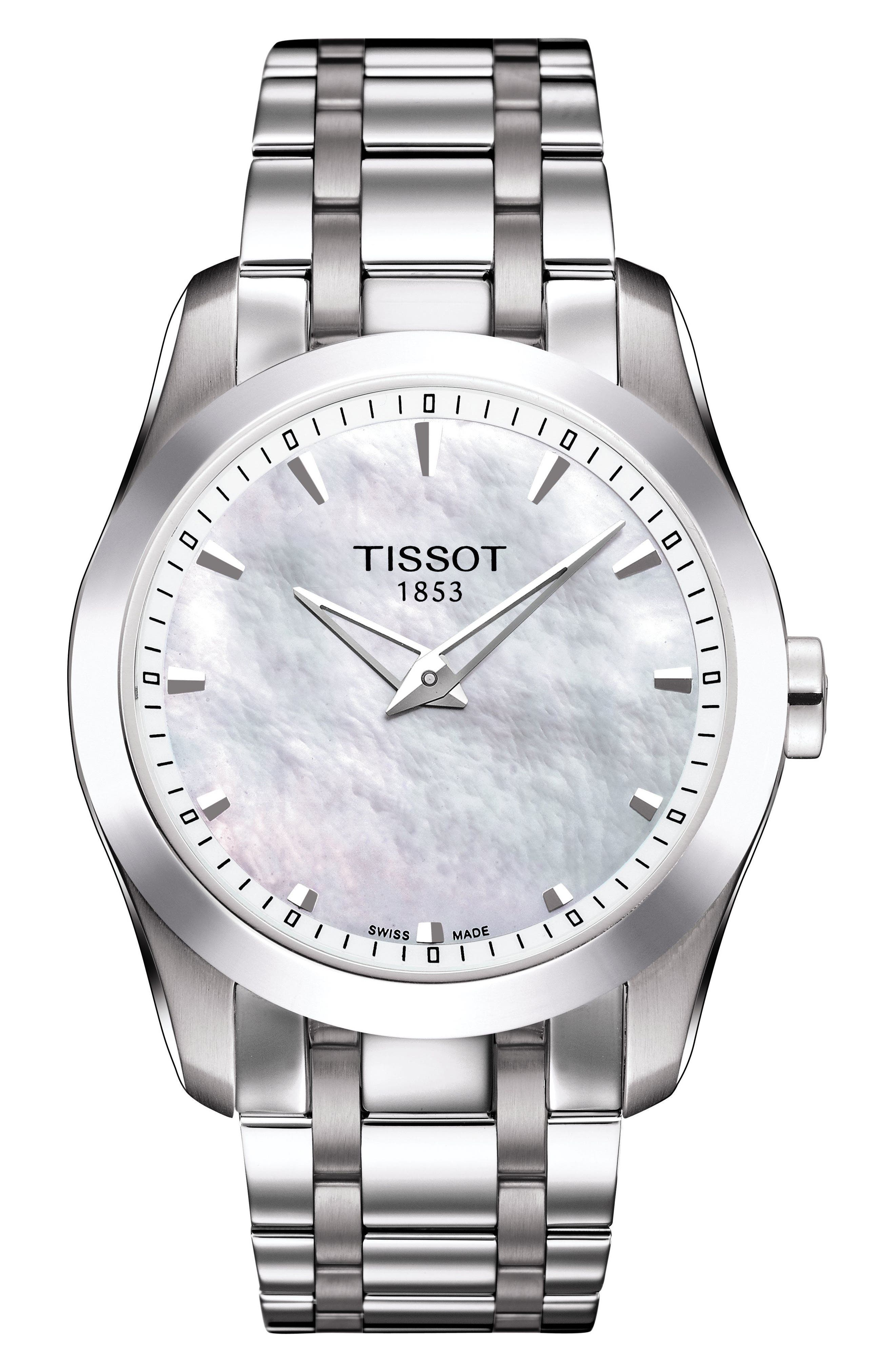 Image of Tissot Women's Couturier Bracelet Watch, 33mm