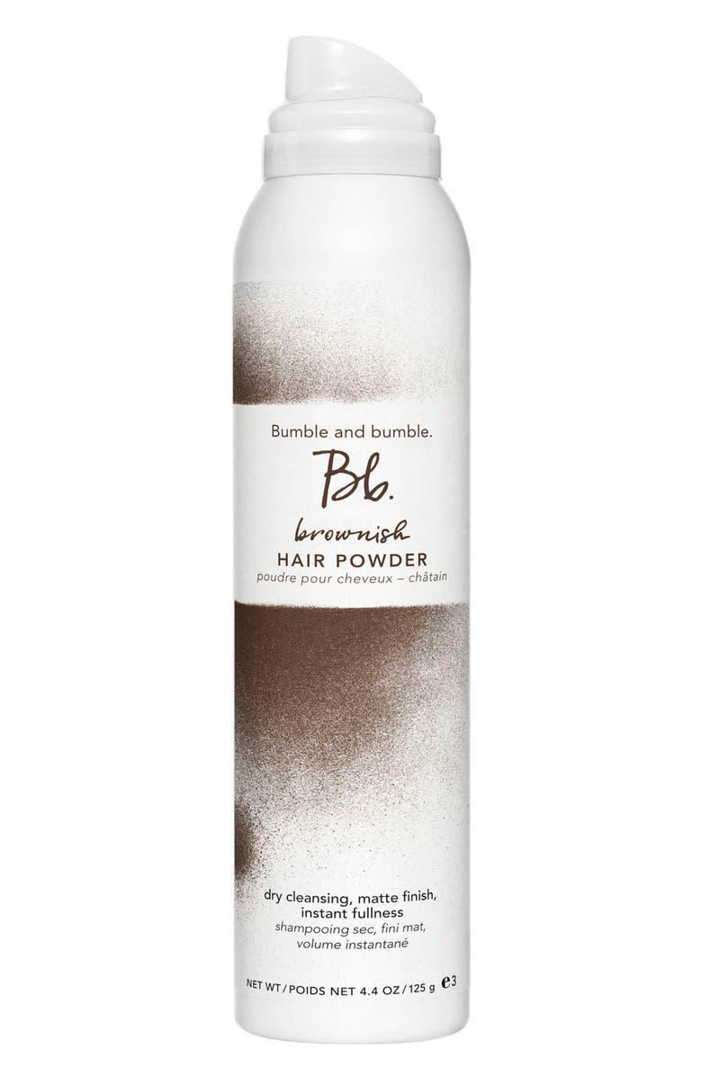 BUMBLE AND BUMBLE. Hair Powder, Main, color, BROWNISH