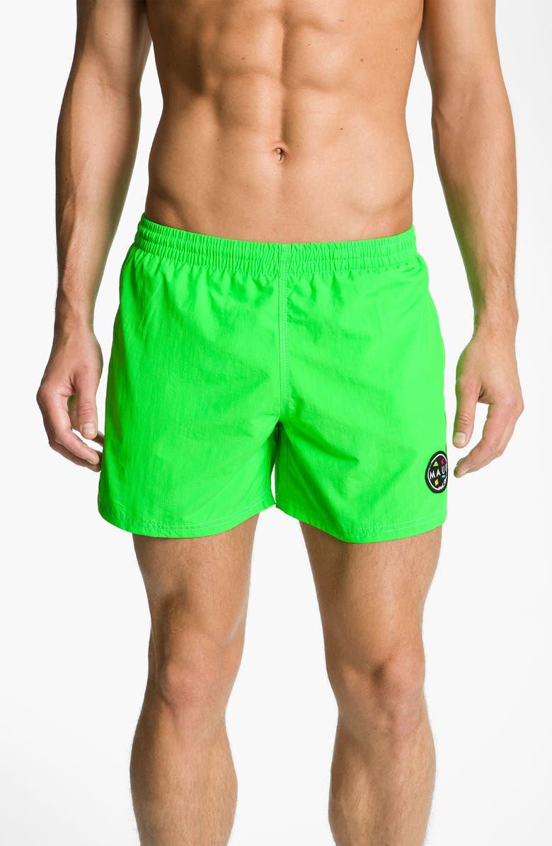 df1aaec05f Maui & Sons 'Party Rocker' Volley Swim Trunks | Nordstrom
