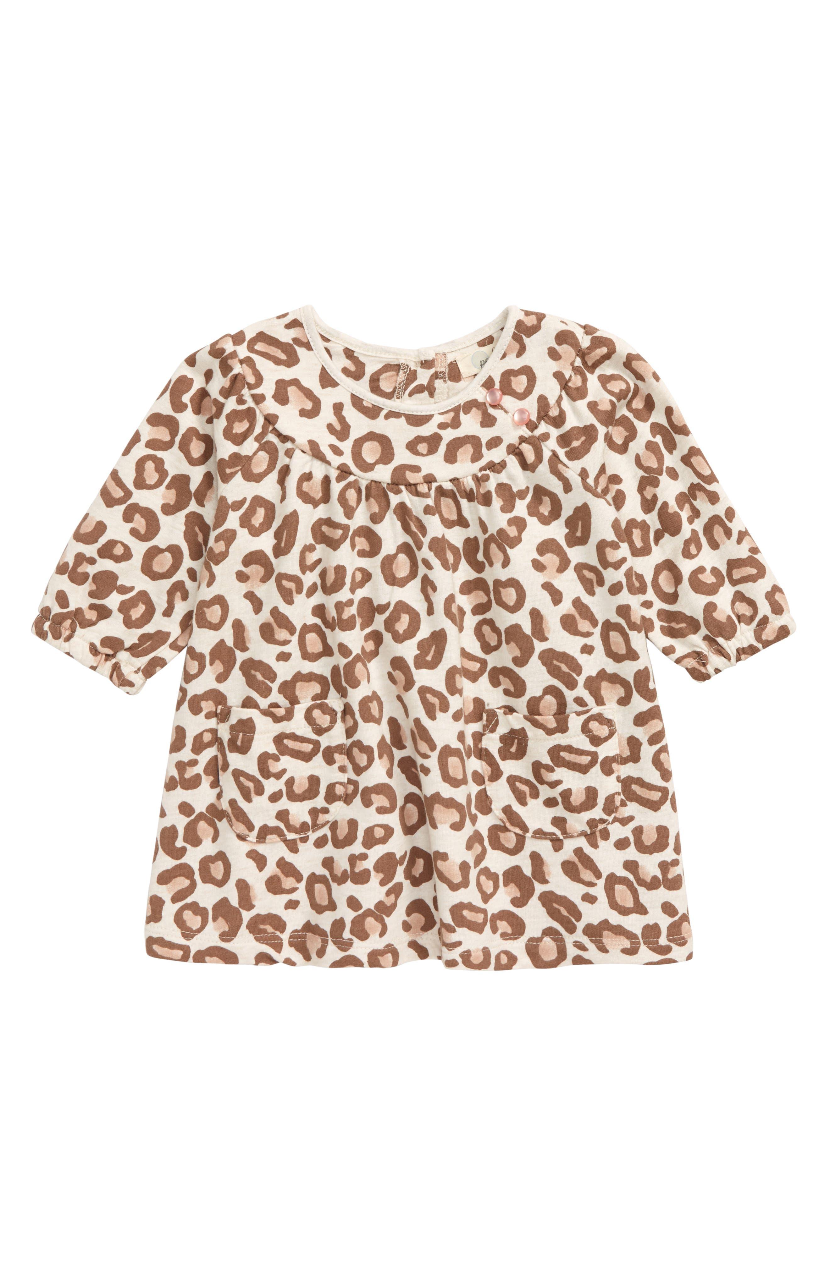 Image of PEEK ESSENTIALS Leopard Print Dress