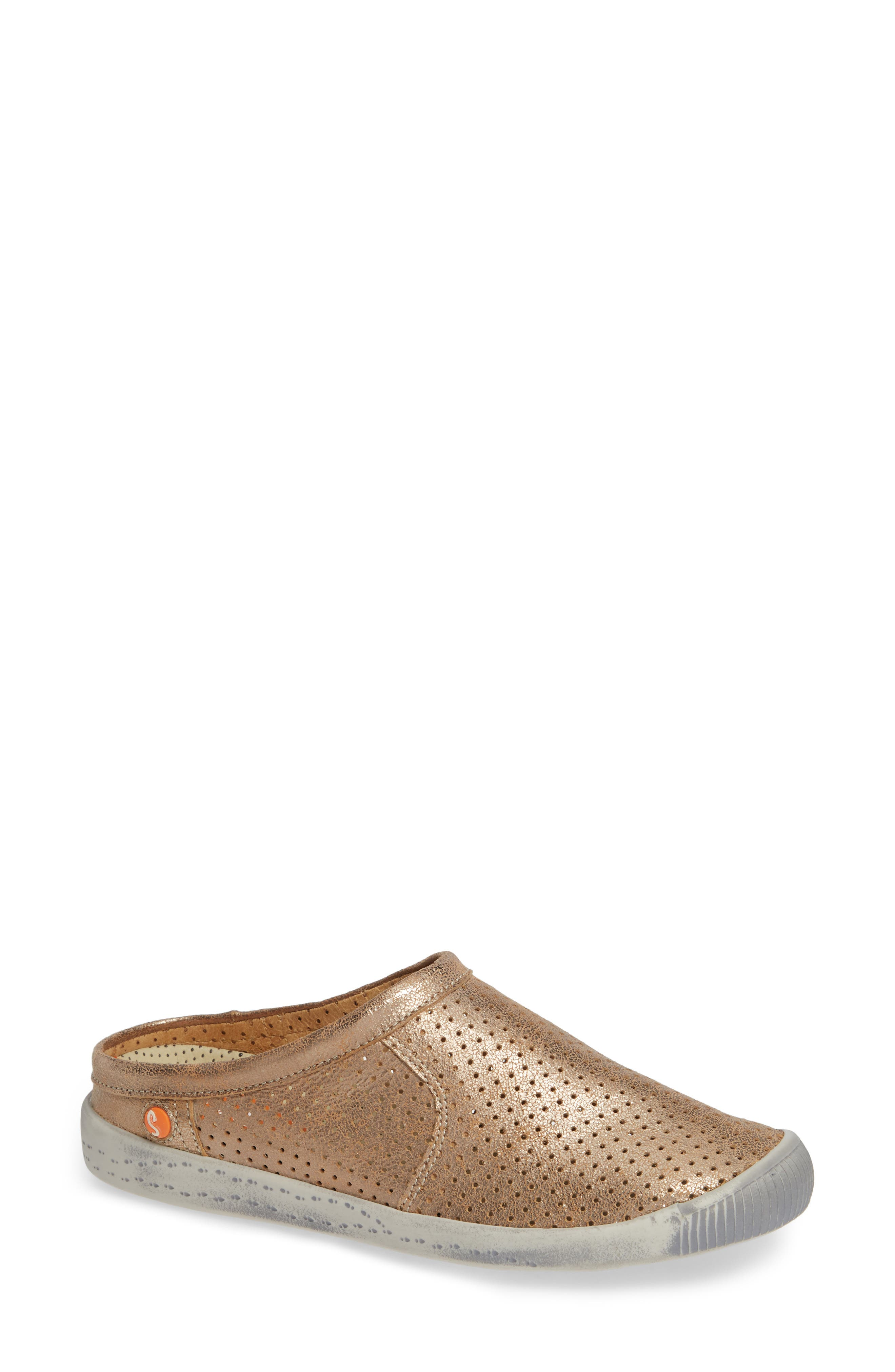 Softinos By Fly London Ima Sneaker Mule, Beige