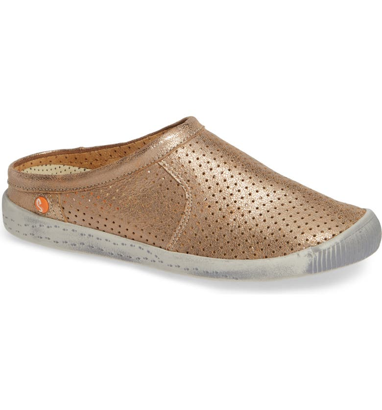 SOFTINOS BY FLY LONDON Ima Sneaker Mule, Main, color, LUNA LEATHER