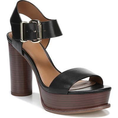 Sarto By Franco Sarto Katerina Platform Sandal- Black