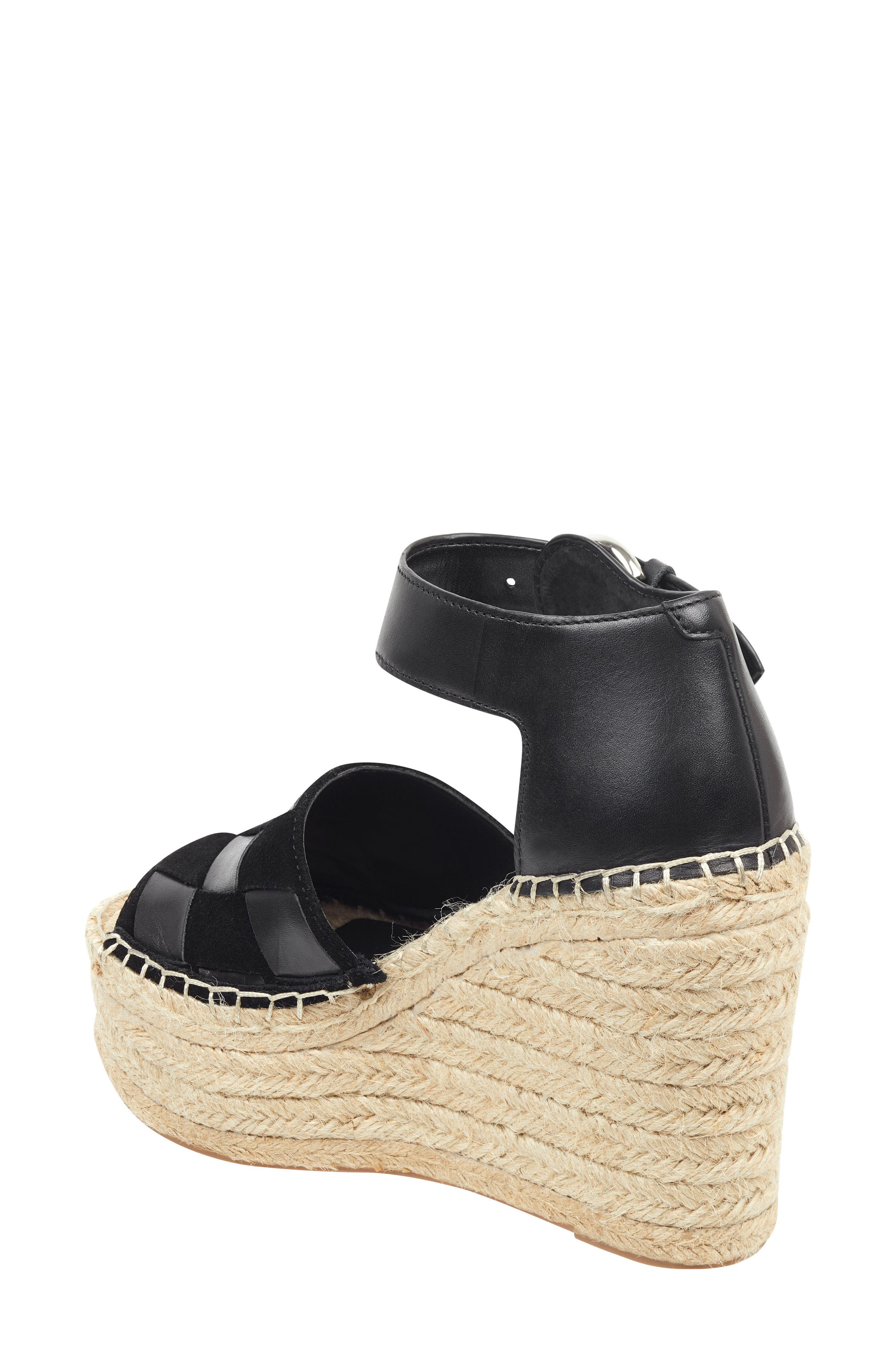 ,                             Adalla Platform Wedge Sandal,                             Alternate thumbnail 9, color,                             001