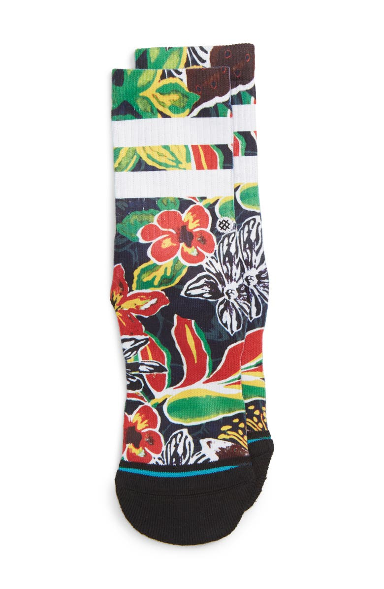 STANCE Tropical Time Socks, Main, color, 009