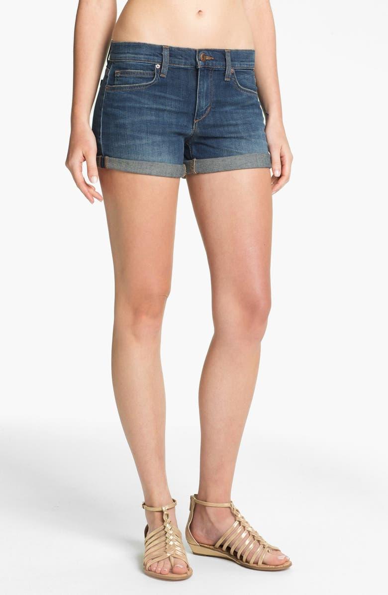 JOE'S Cuff Denim Shorts, Main, color, 410