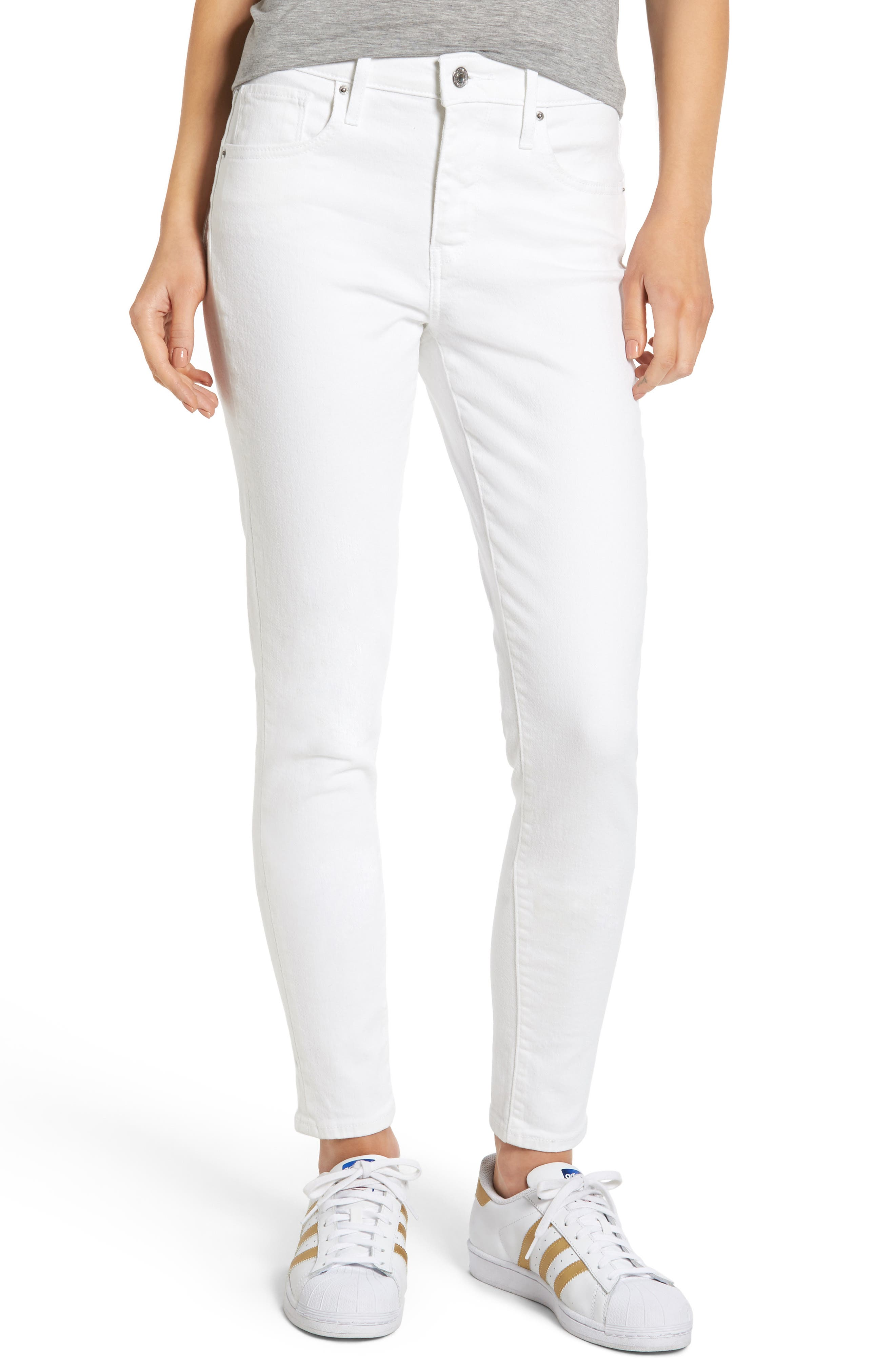 721 High Rise Skinny Jeans, Main, color, 100