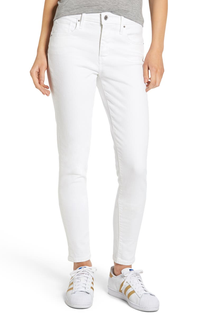 LEVI'S<SUP>®</SUP> 721 High Rise Skinny Jeans, Main, color, 100