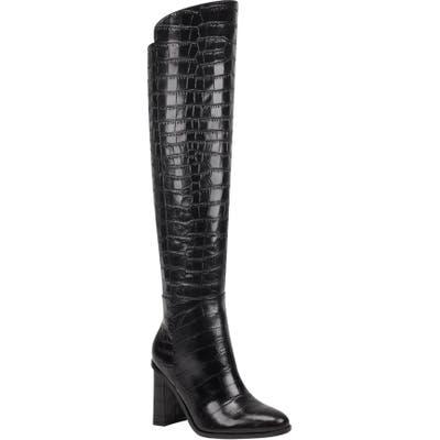 Marc Fisher Ltd Unella Knee High Boot, Black