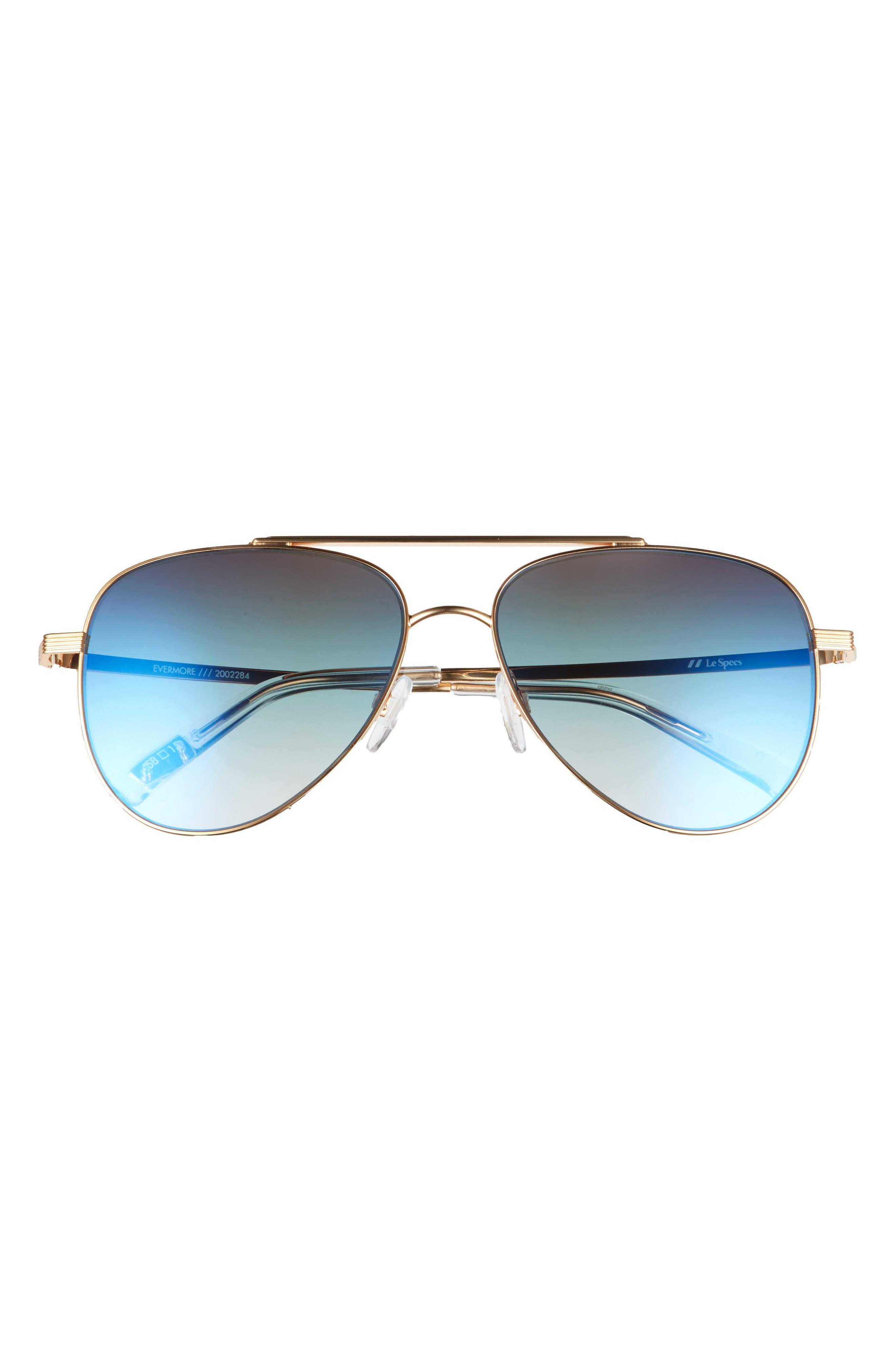 Evermore 58mm Aviator Sunglasses