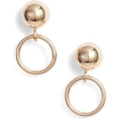 Marida Hollow Post Earrings
