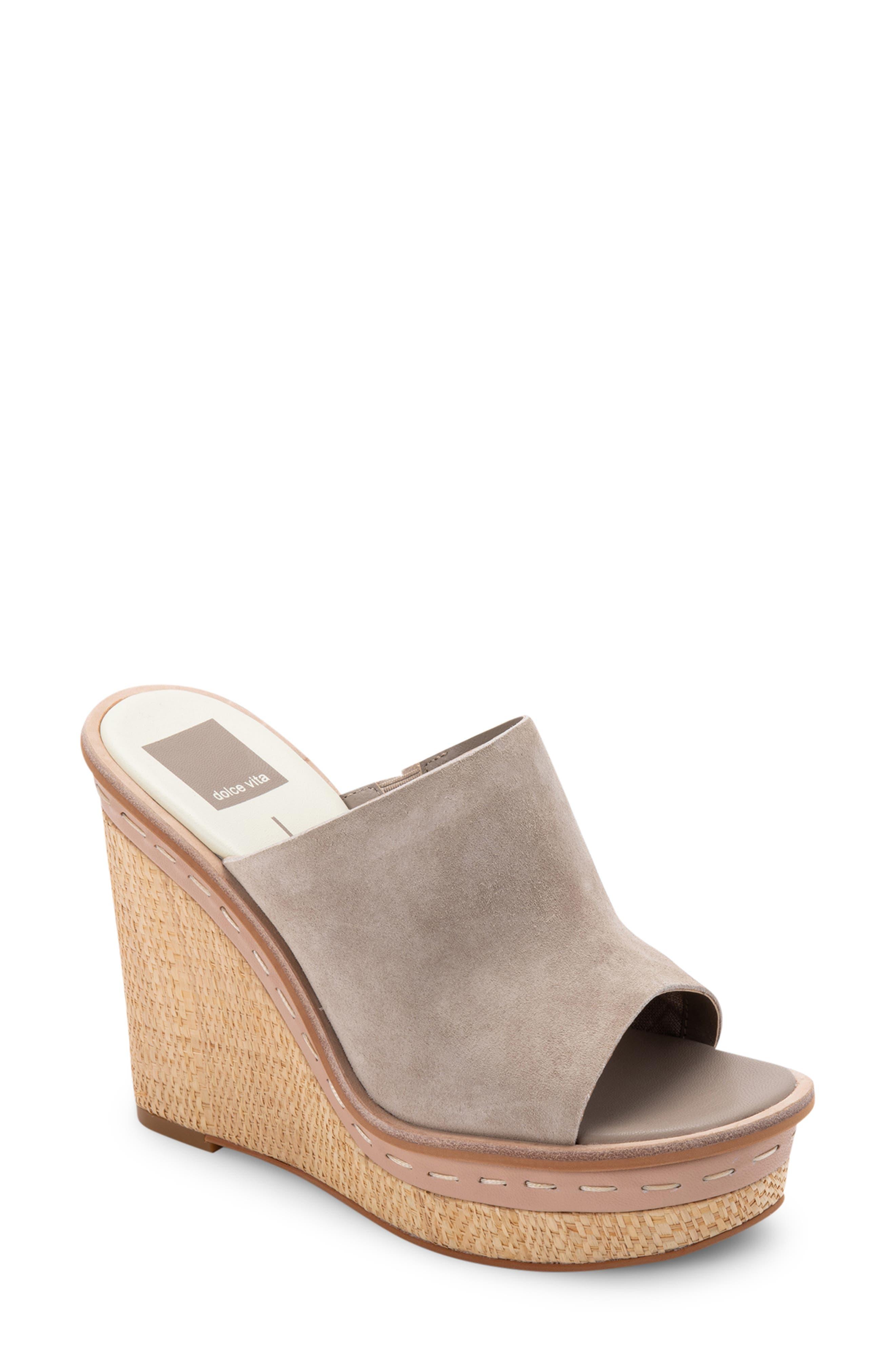 Bonny Platform Wedge Slide Sandal