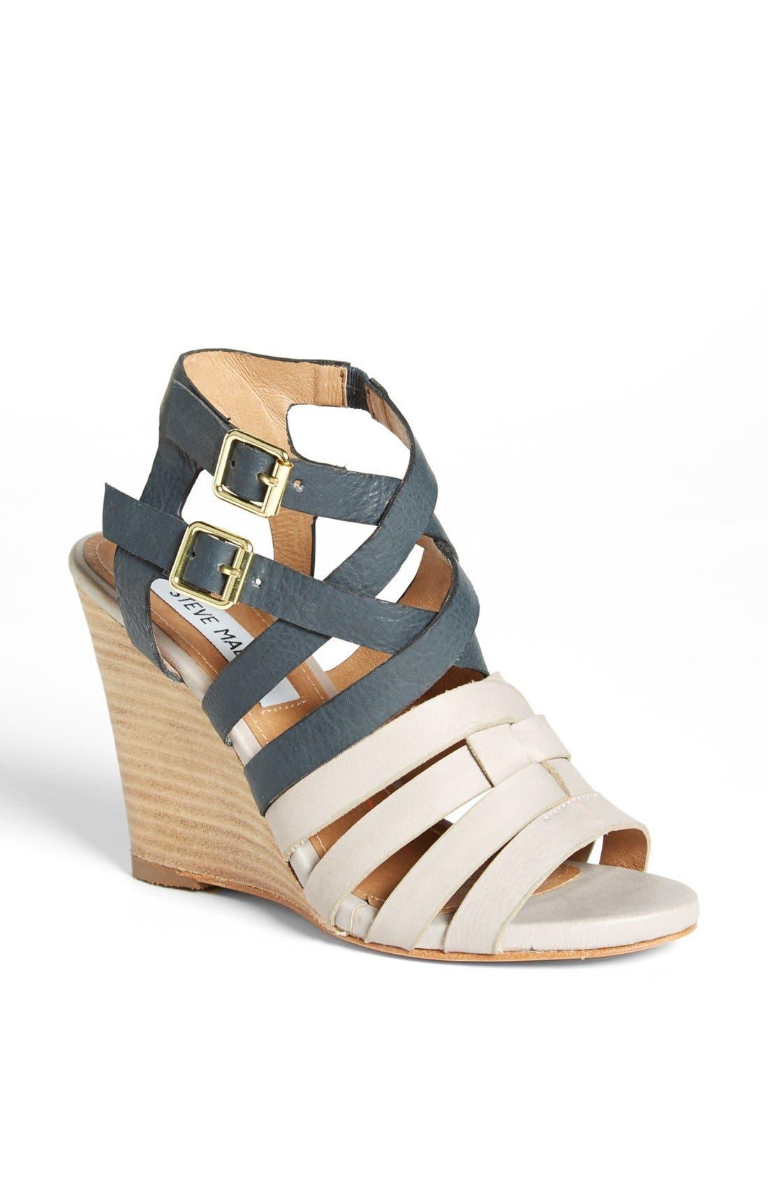 'Venis' Sandal, Main, color, 020