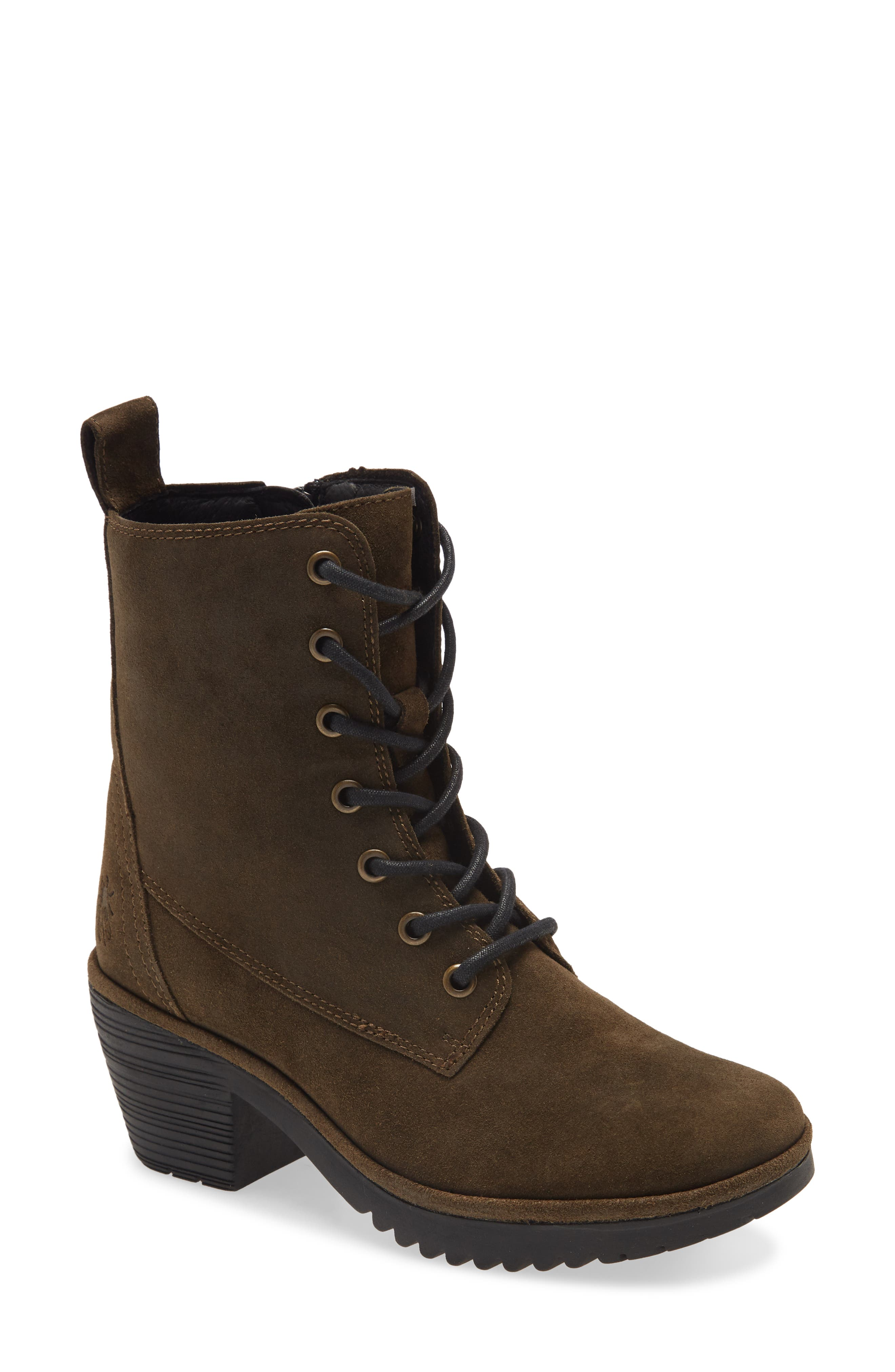 Webe Lace-Up Boot