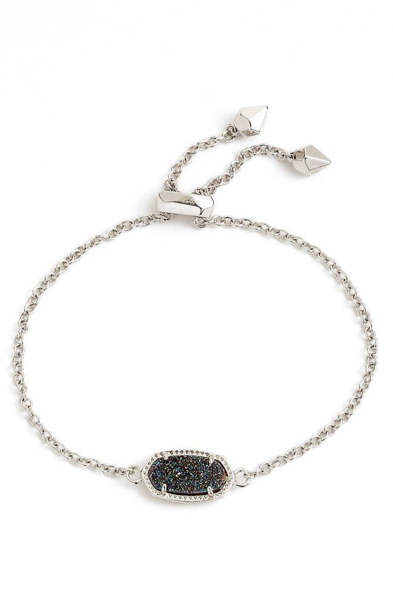 KENDRA SCOTT Elaina Bracelet, Main, color, MULTI/ SILVER