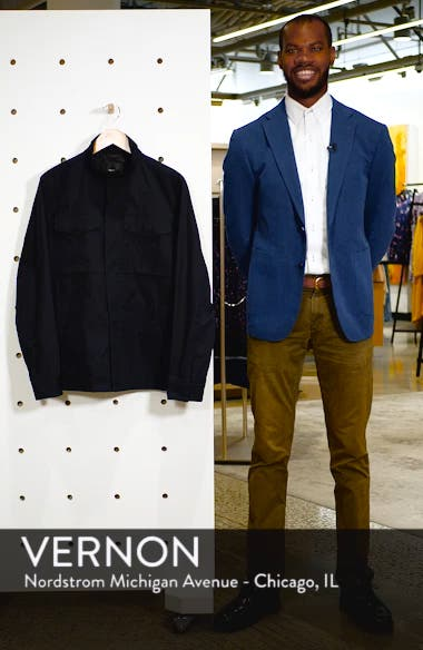 'Yost' Canvas Jacket, sales video thumbnail