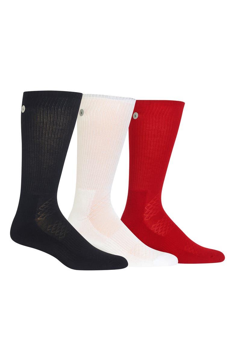 Ralph Lauren 3 Pack Reflector Crew Socks