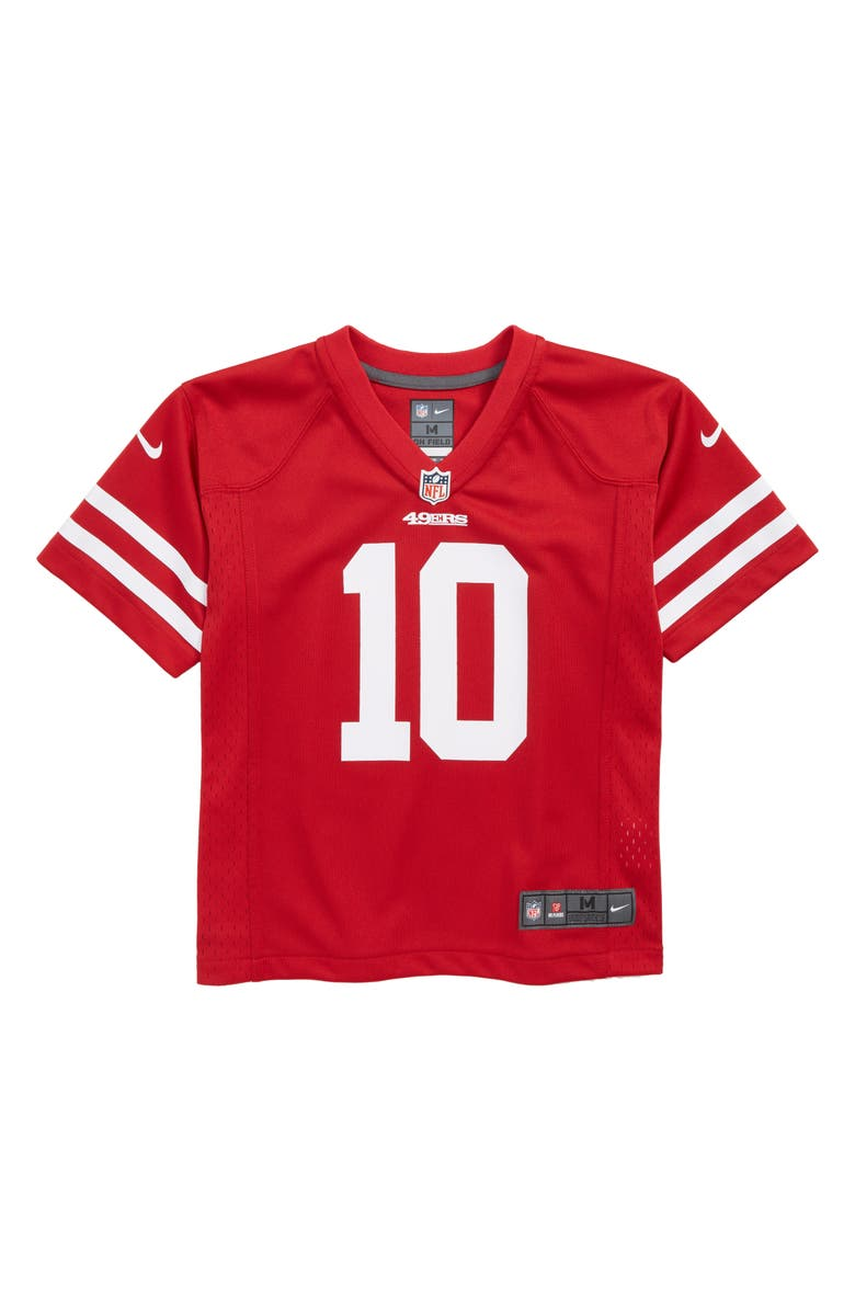 best cheap fc150 6c6da Nike NFL Logo San Francisco 49ers Jimmy Garoppolo Jersey ...