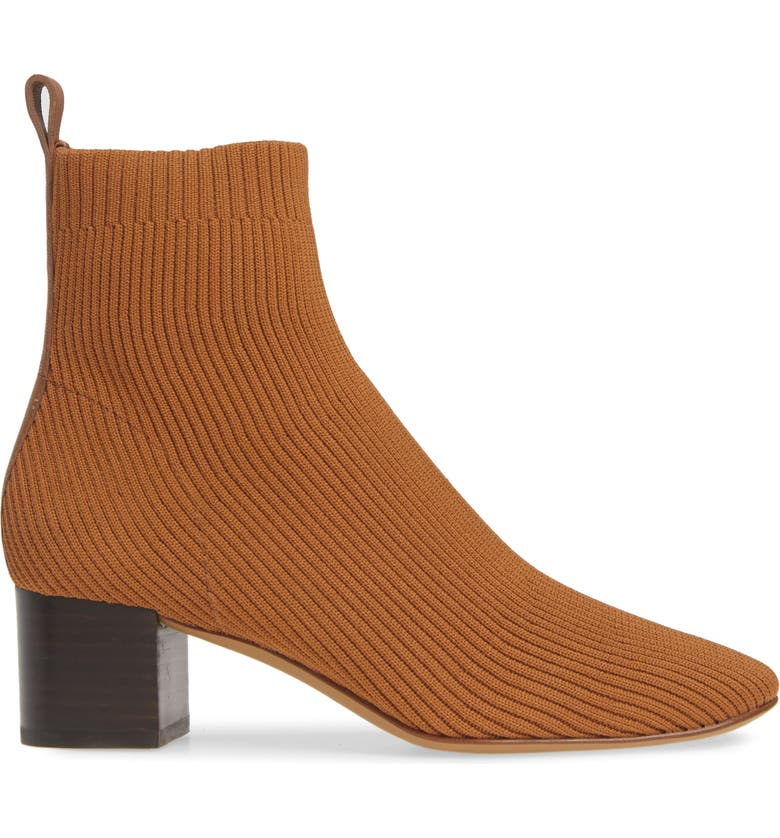 EVERLANE ReKnit Day Glove Boot, Main, color, TOFFEE