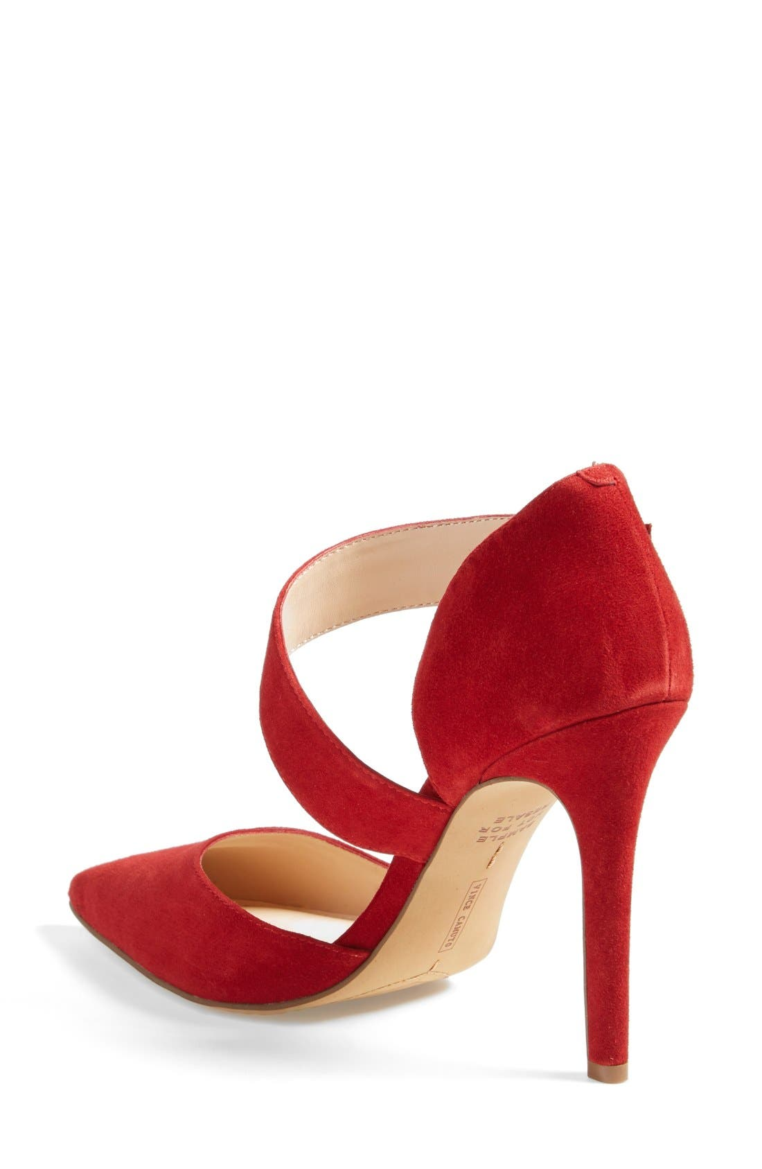 ,                             'Carlotte' Pointy Toe Pump,                             Alternate thumbnail 33, color,                             620