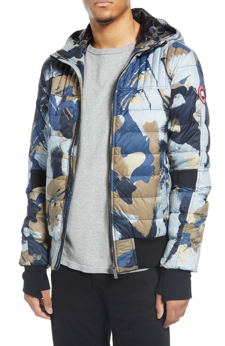 CANADA GOOSE Cabri Hooded Packable Down Jacket, Main, color, FREE FORM CAMO