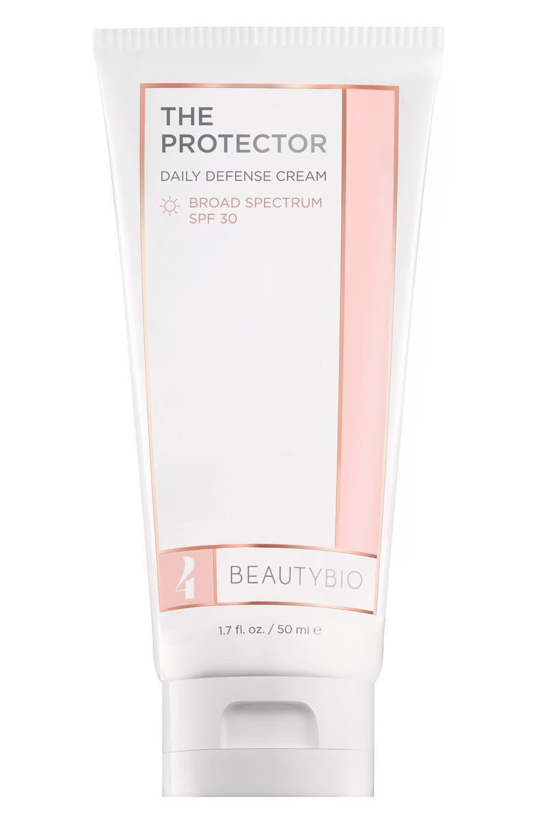 BEAUTYBIO The Protector Daily Defense Cream SPF 30, Main, color, NO COLOR