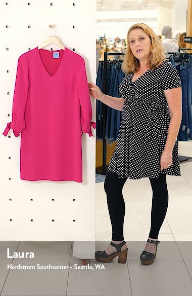 Tie Sleeve A-Line Dress, sales video thumbnail