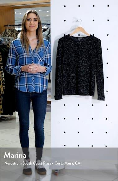 Shimmer Merino Wool Blend Top, sales video thumbnail