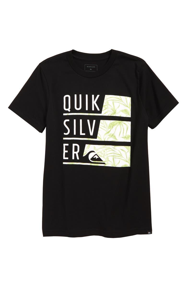 Quiksilver Word Up Wailu Graphic T Shirt Big Boys