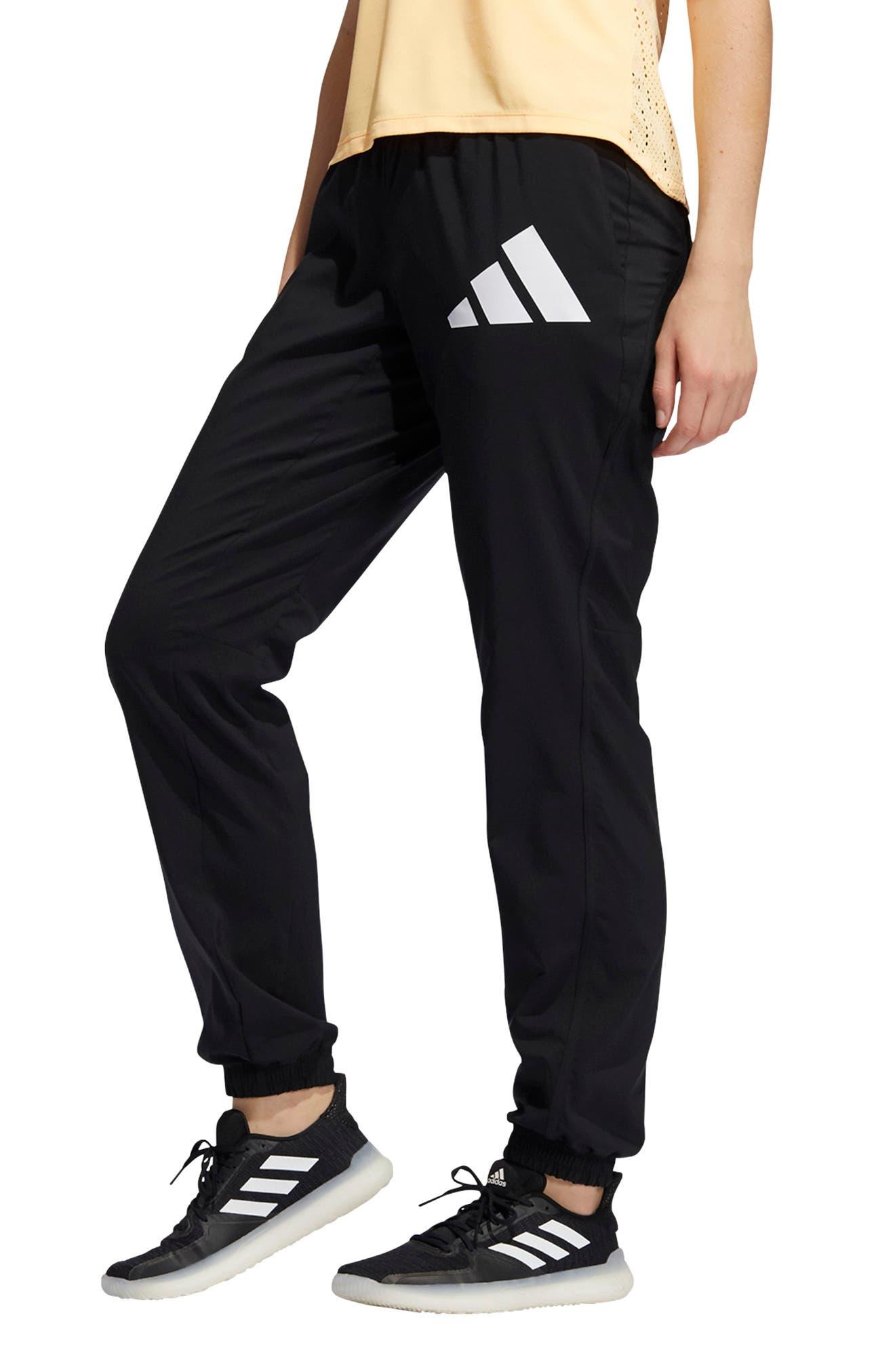 Women's Adidas 3 Bar Logo Sweatpants