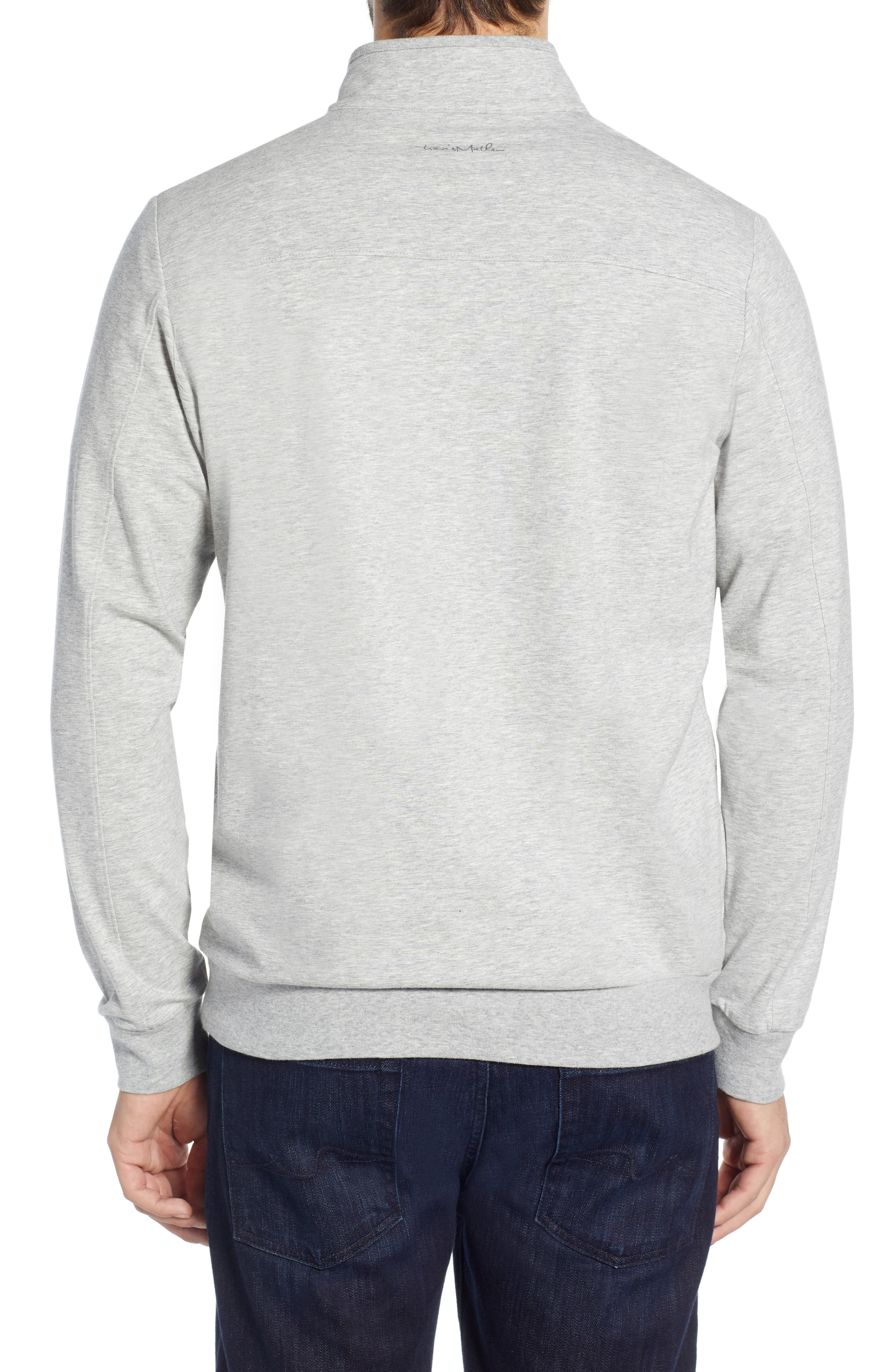 ,                             Play Through Regular Fit Half Zip Pullover,                             Alternate thumbnail 2, color,                             HEATHER ALLOY