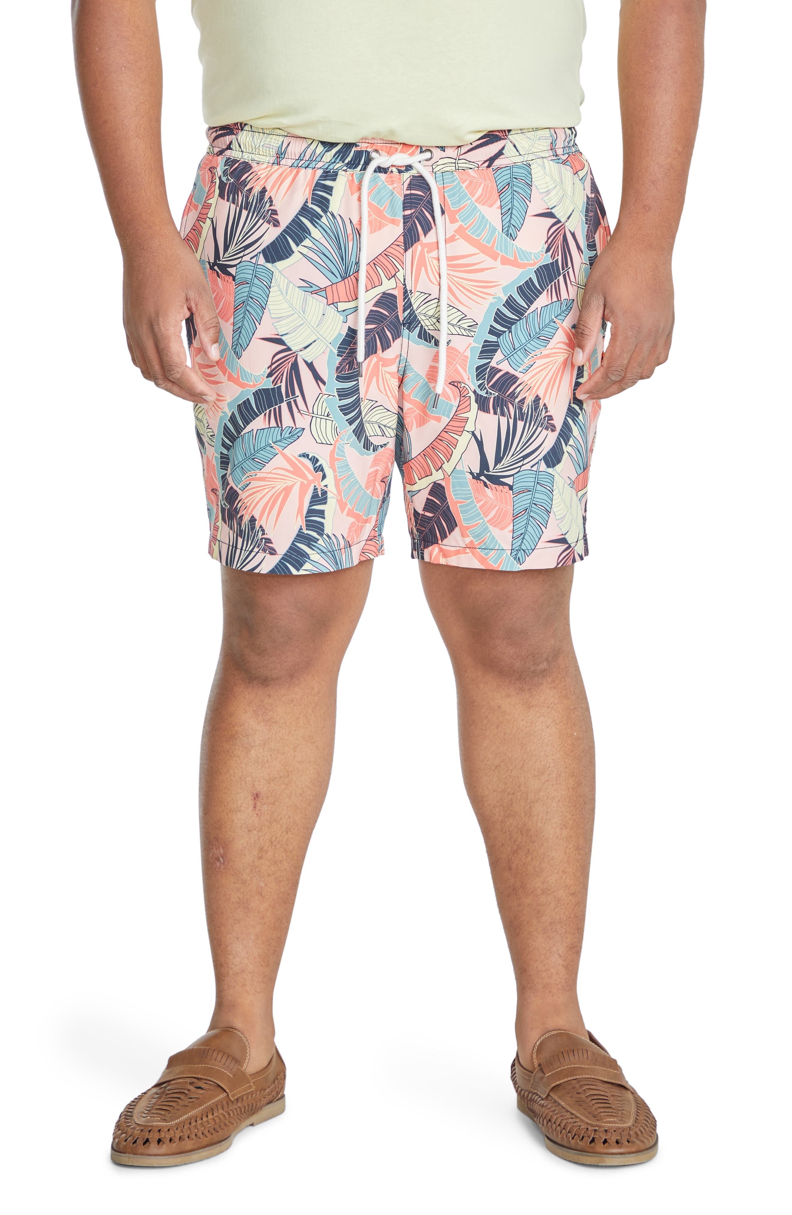 Tropics Stretch Swim Trunks