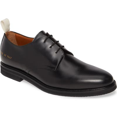 Common Projects Standard Plain Toe Derby, Black