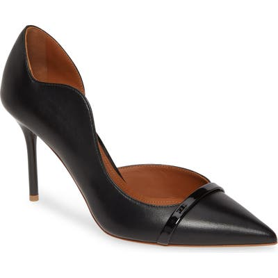 Malone Souliers Morrissey Wave Asymmetrical Pump, Black (Nordstrom Exclusive)
