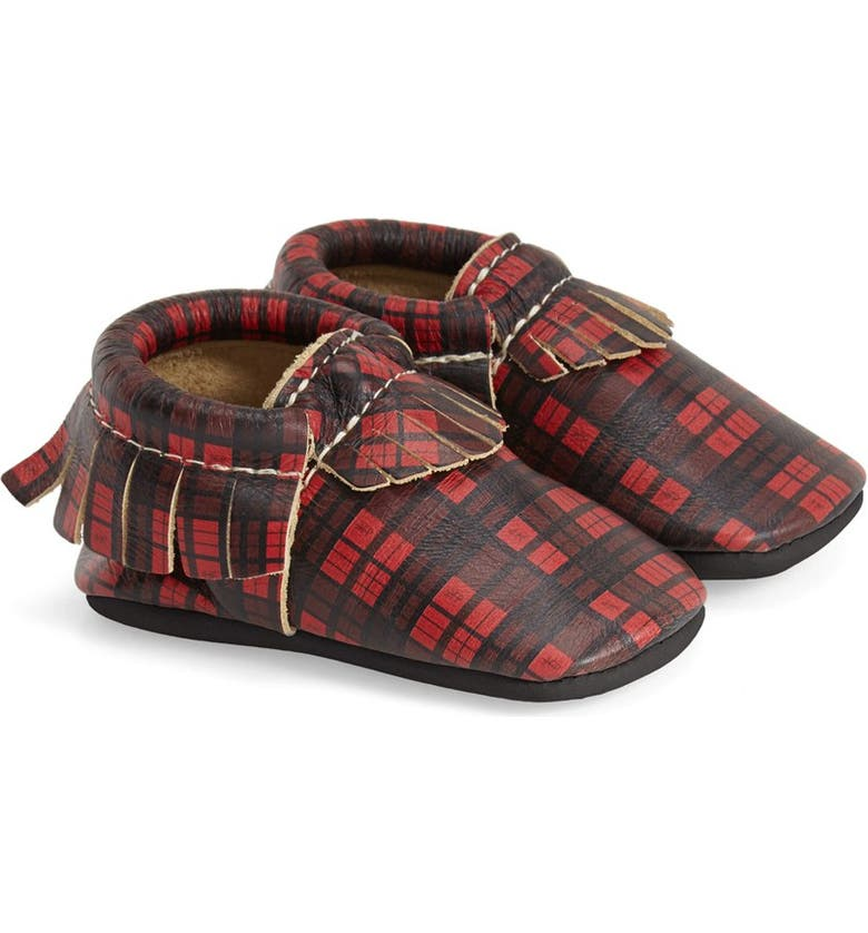 FRESHLY PICKED Plaid Moccasin, Main, color, 600