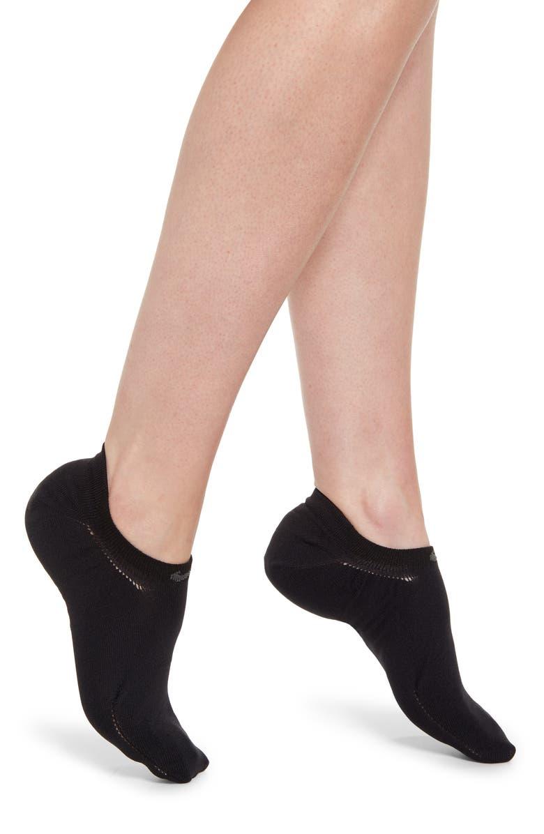 NIKE Air No Show Socks, Main, color, BLACK