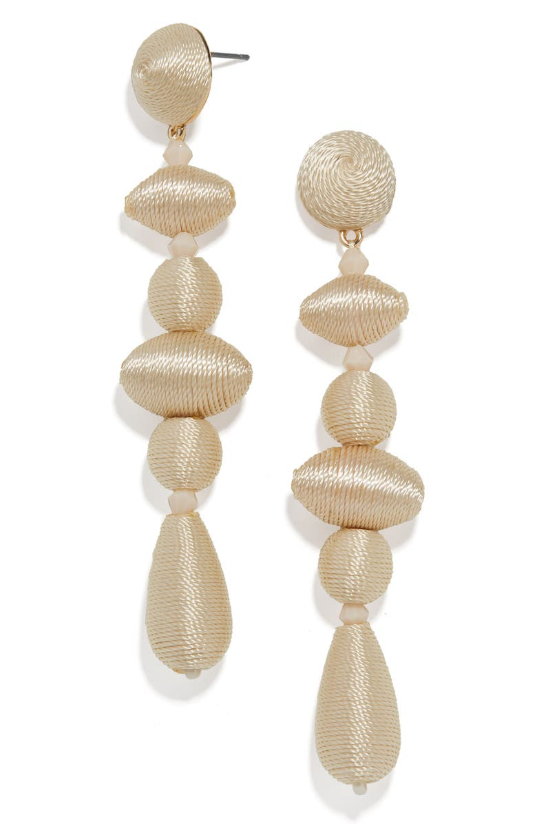 BAUBLEBAR Harlequin Drop Earrings, Main, color, IVORY
